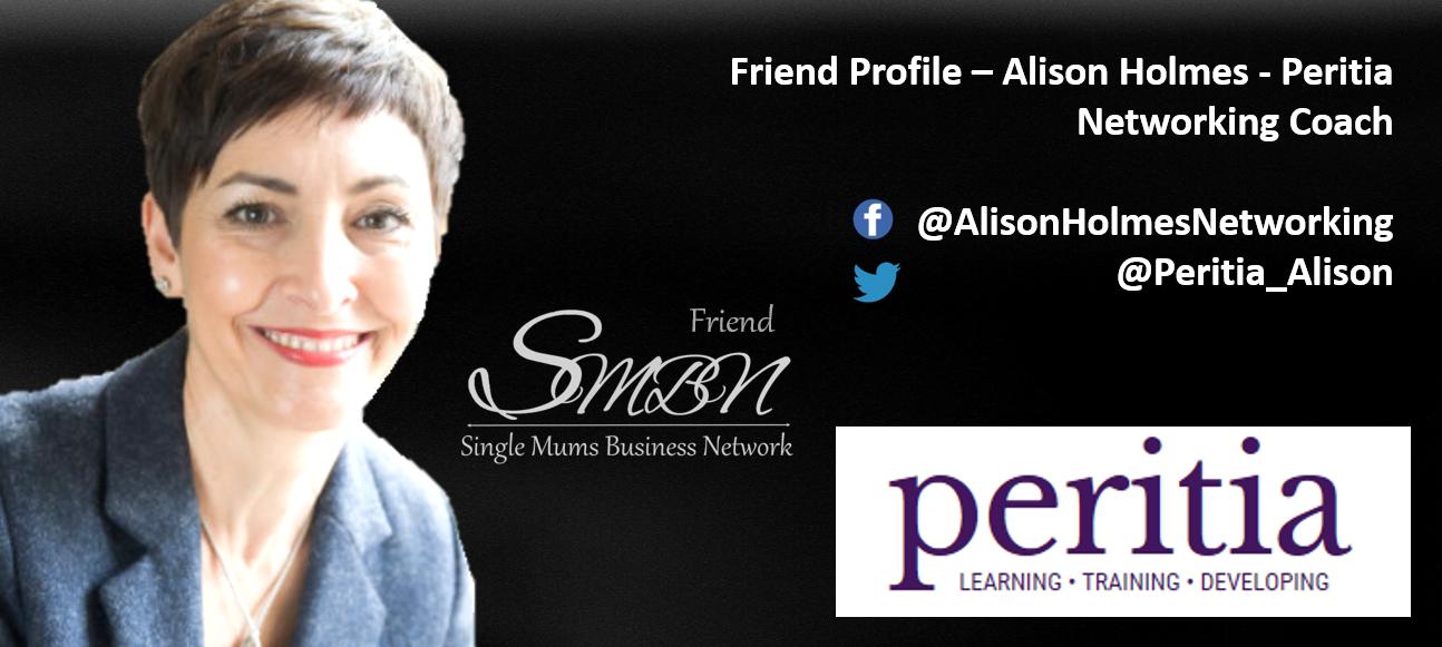 Alison Holmes Networking Coach Peritia