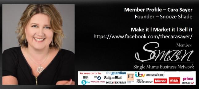 Business Advice Entrepreneur Cara Sayer PR and Marketing Award Winning Mum  Self-Employed Single Mum in the UK Member of the Single Mums Business Network