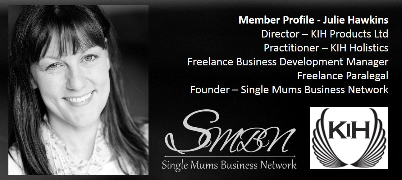Julie Hawkins Virtual Assistant Paralegal Entrepreneur Award Winning Business Development Self-Employed Single Mum in the UK Member of the Single Mums Business Network