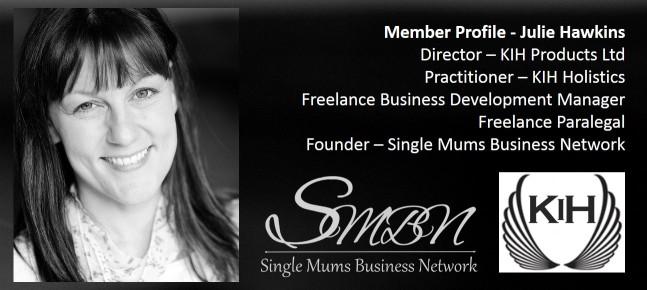 Julie Hawkins Virtual Assistant Paralegal Entrepreneur Award Winning Business Development Self-Employed Single Mum in the UK Member of the Single Mums Business Network