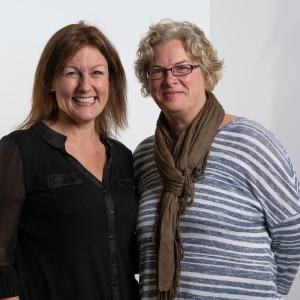 Julie Hawkins and Kirstie Preece Single Mums Business Network Gloucester
