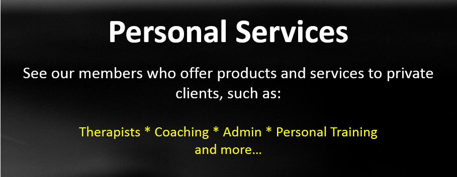 Therapists Coaching Admin Personal Training